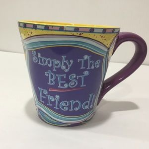 Simply the Best Friend Coffee Mug
